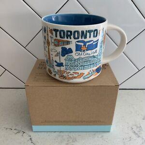 "NEW IN BOX Starbucks ""Been There"" Mug, Toronto Canada w/ SKU"