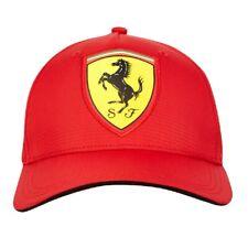 Cap Formula One 1 Scuderia Ferrari Scudetto F1 Team Red NEW! Carbon Curved Peak