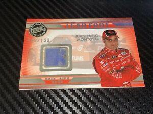 Juan Pablo Montoya LEAD FOOT RACE USED SHOE Press Pass Authentics 2009 card #'d