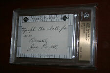 2011 Leaf Ink Prime Cuts SP Pride of Pinstripes Joe Sewell HOF Auto 1/1