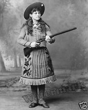 Photograph of Western Annie Oakley Portrait taken in 1888   8x10