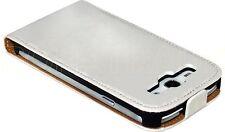 Praktische Ledertasche/Etui/Schutzhülle für Samsung Galaxy S3 i9300, Farbe WEISS