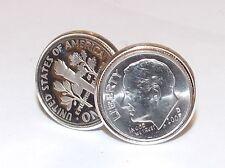30th Cumpleaños 1987 Seis Peniques Moneda Gemelos Hombre Regalo-American moneda de diez centavos gemelos