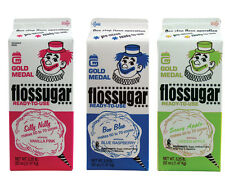 Cotton Candy Sugar Floss, 3 Cartons, Ready to Use, Free Shipping in USA