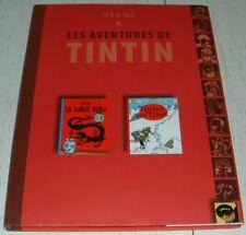 HERGE TINTIN / LOTUS BLEU + TINTIN AU TIBET 2007 CLUB FRANCAIS DU LIVRE
