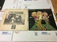 Lot of 2 ERIC CLAPTON Blind Faith & Guitar Boogie Vinyl LP Record 1971 1969