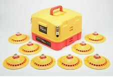 New Total Flare Alkaline 8 Led strobe Flares With Case Emergency Safety Lights