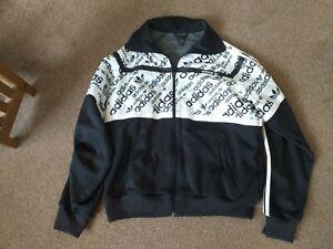 Mens Adidas originals Logo Lightweight Jacket  size XL (46 Chest). Full zip