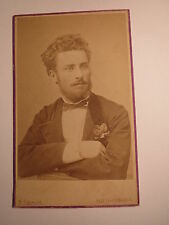 Pest - Budapest - Mann mit Bart im Anzug - Portrait / CDV Ungarn