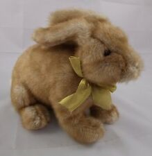 "Gund Rabbit Bunny Plush Briggs Brown 36257 10"" Long"