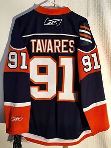 Reebok Premier NHL Jersey New York Islanders John Tavares Navy sz S