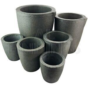 Graphite furnace casting foundry crucible ingot tool 1,2,4,6,8,12,14,16,18 kg