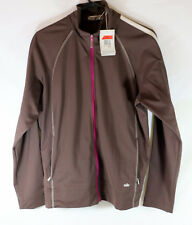 Nike Dry Fit Golf Jacket Woman's L (12-14) New Tags Brown