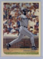 1999 Topps Chrome Larry Walker #350 Refractor HOF Colorado Rockies SP