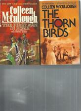 COLLEEN McCULLOUGH - THE FIRST MAN IN ROME  -  LOT OF 2 BOOKS