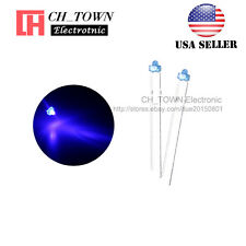 100pcs 1.8mm Diffused Blue Color Blue Light LED Diodes DIP High Quality USA