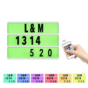 A4 Size Light Box Letters Combination Lightbox Decoration Lightweight USB Cable