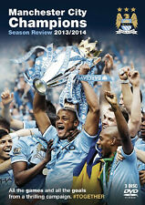 Manchester City - Season Review 2013 - 2014 - DVD - BRAND NEW SEALED MAN CITY