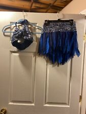 Adult Small Blue Dance Costume