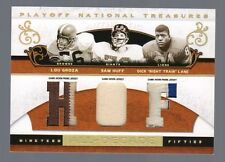 2007 National Treasures All Decade HOF Sam Huff Lou Groza Night Train Lane #1/8
