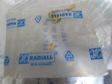 Radiall R.114.186.100 SMB right angle plug for KX 22A, RG 179, RG 187, RG 188