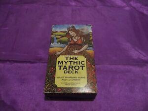 OOP ORIGINAL MYTHIC TAROT CARDS DECK ONLY.SHARMAN-BURKE/GREENE.**DETAILS**