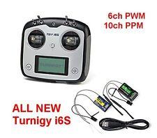 Nuevo Turnigy TGY-i6S PWM 10ch/ppm multirrotor transmisor con 2 receptores modo 1