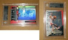 😜 BGS 9 1992 1993 1994 MICHAEL JORDAN TEAM MVP TRIPLE DOUBLE HOLOGRAM TD2 CARD