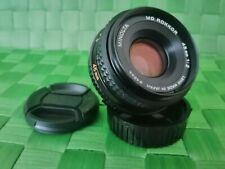 Minolta MD Rokkor 45mm f2 Pancake Lens, Top!,  * Professionally~Serviced *