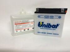 CB7L-B2/SM BATTERIA MOTO UNIBAT 8 AH 124 A (EN) - COD. YUASA YB7L-B