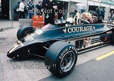 Elio de Angelis JPS Lotus 88 F1 pruebas Marcas Escotilla 1981 fotografía