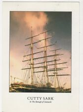 Cutty Sark In The Borough Of Greenwich Postcard 597a