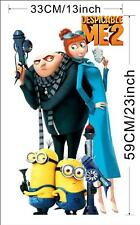despicable  me wall decals x 4
