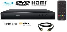 Philips BDP1502/F7 HDMI Blu-Ray DVD Player with Remote (RB) W/6 FT HDMI Cable