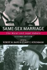 Same-sex Marriage: The Moral And Legal Debate (Contemporary Issues (Pr-ExLibrary