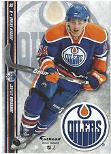 JORDAN EBERLE EDMONTON OILERS FATHEAD TRADEABLES REMOVABLE STICKER NHL 2012 #36