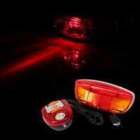LED Bicycle Bike Turn Signal Directional Brake Light Lamp 8 Sound Horn Taillight