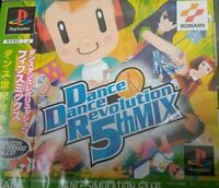 USED PS1 PS PlayStation 1 Dance Dance Revolution 5th MIX