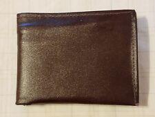 Vintage Genuine Cowhide Bi-Fold Mens Wallet