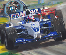 Canvas 2001 Williams BMW FW23 #6 Juan Pablo Montoya (COL) by Toon Nagtegaal LE