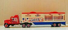 Majorette Super Movers Diecast Circus Tractor Trailer Truck - 1:87 HO