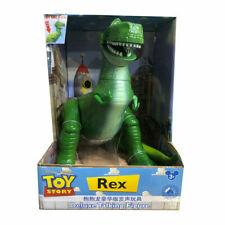 35cm Large Disney Pixar Toy Story Rex Dinosaur Deluxe Talking Action Figures Toy