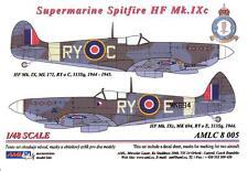 AML Models Decals 1/48 SUPERMARINE SPITFIRE HF Mk.IXc Part 1