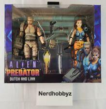 NECA Alien VS Predator Arcade Dutch and Linn - New In Hand FREE Shipping