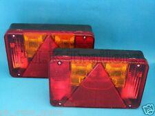 FREE P&P* 2 x Radex 5800 9 pin Plug-in Rear Trailer Lamps LH & RH Indespension