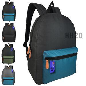 Backpack Rucksack Mens Boys Girls Ladies Large Big Bag School Sports Gym Travel