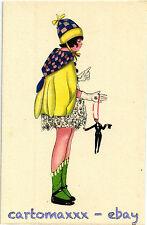 Postcard Art Deco - Mela Koehler Style - Bambina Child - L168