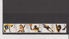 Set 5 GB Great Britain Stamps Olympic and Paralympic Games 1996 Mint in folder