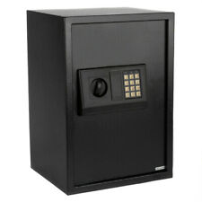 Brand NEW Home Use Electronic Password Steel Plate Safe Box Black