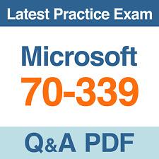 Microsoft Practice Test 70-339 Microsoft SharePoint Server 2016 Exam Q&A PDF